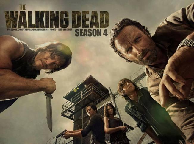 The Walking Dead - poster-season 4